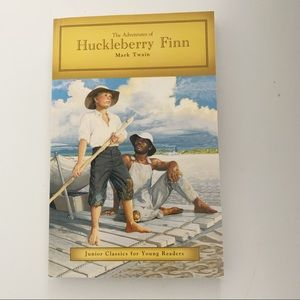 Other - Huckleberry Finn  Book